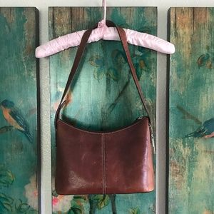 FOSSIL Bag - Genuine Leather - Cognac Brown